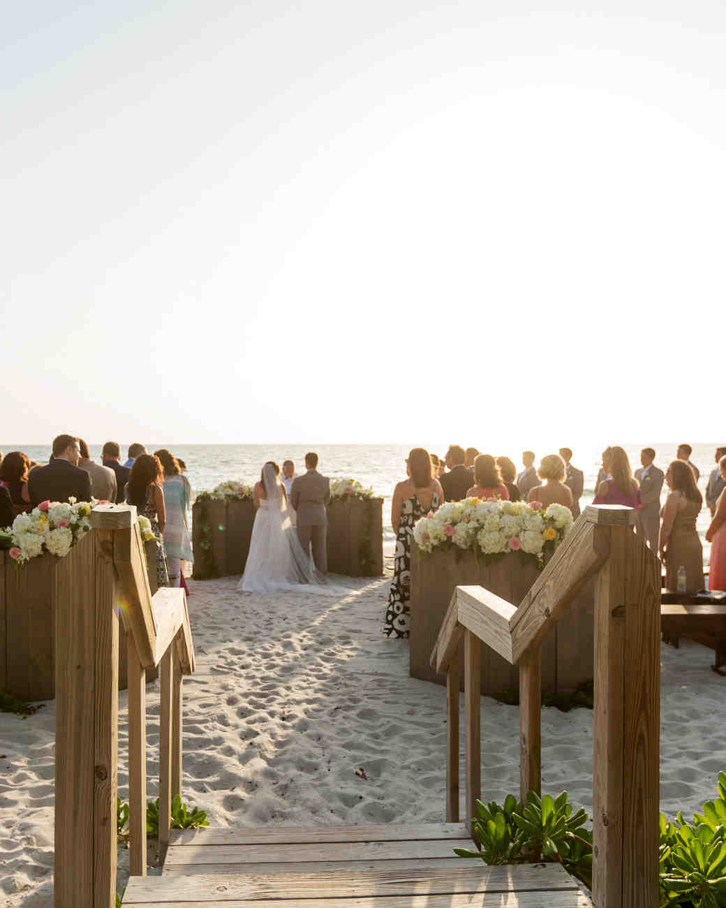 Beach Wedding Ceremony Processional: A Lemon-Inspired Beach Wedding In Naples, Florida
