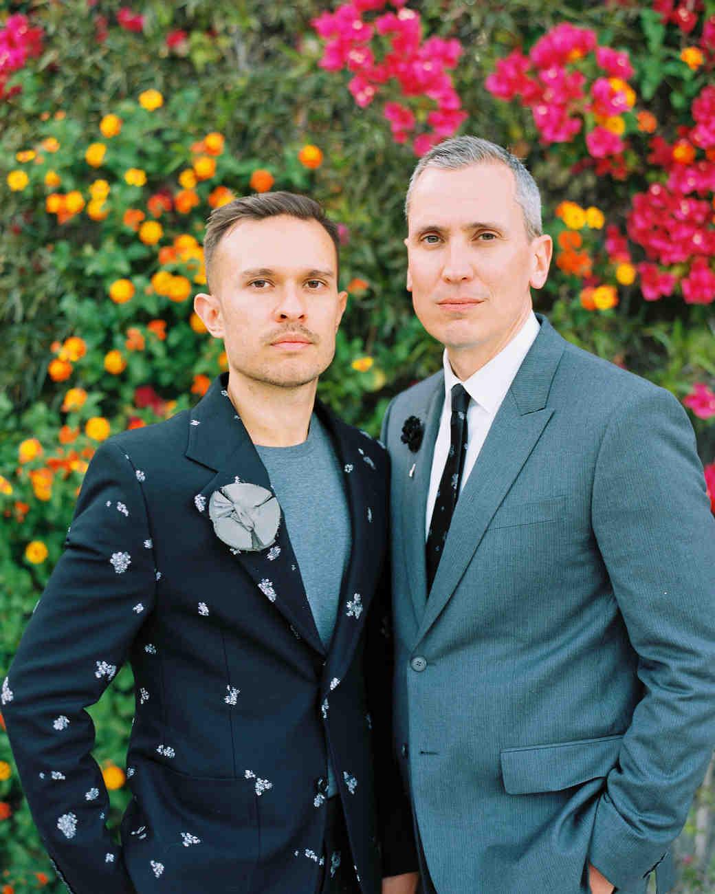 A Chic Destination Wedding in Palm Springs | Martha Stewart Weddings