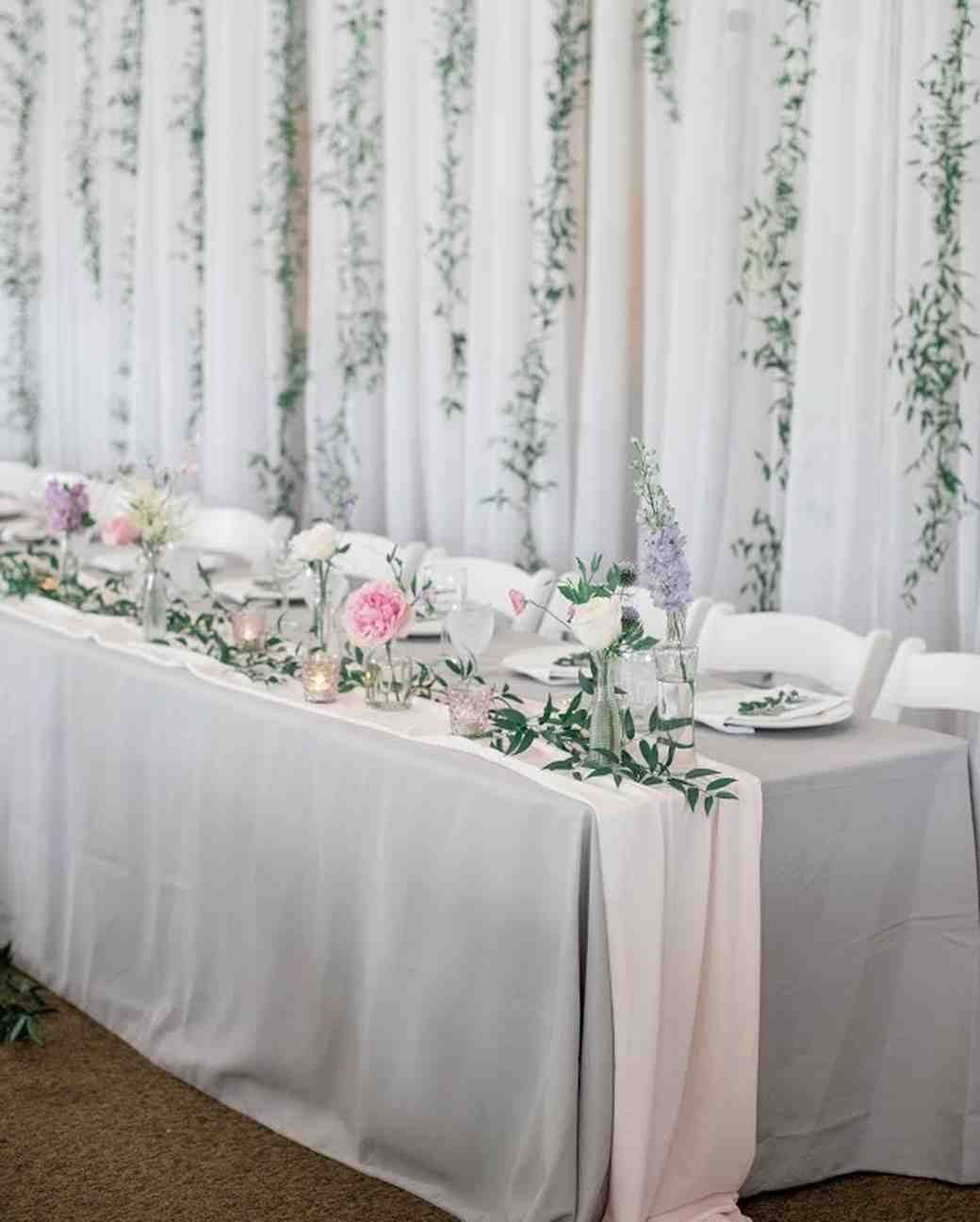 Head Table Ivy Vines