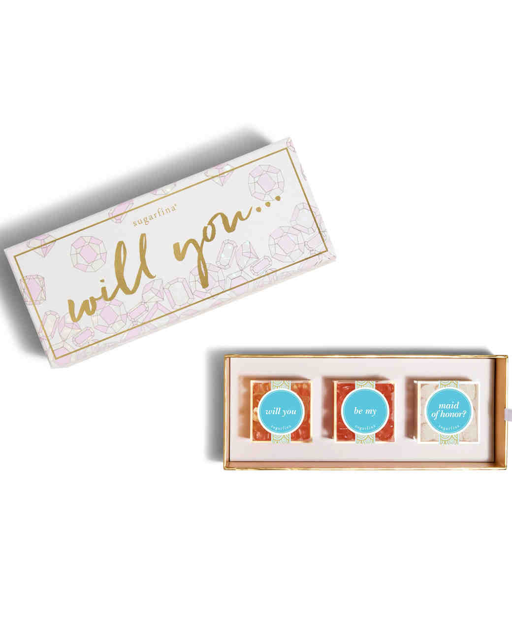 maid of honor proposal candy box