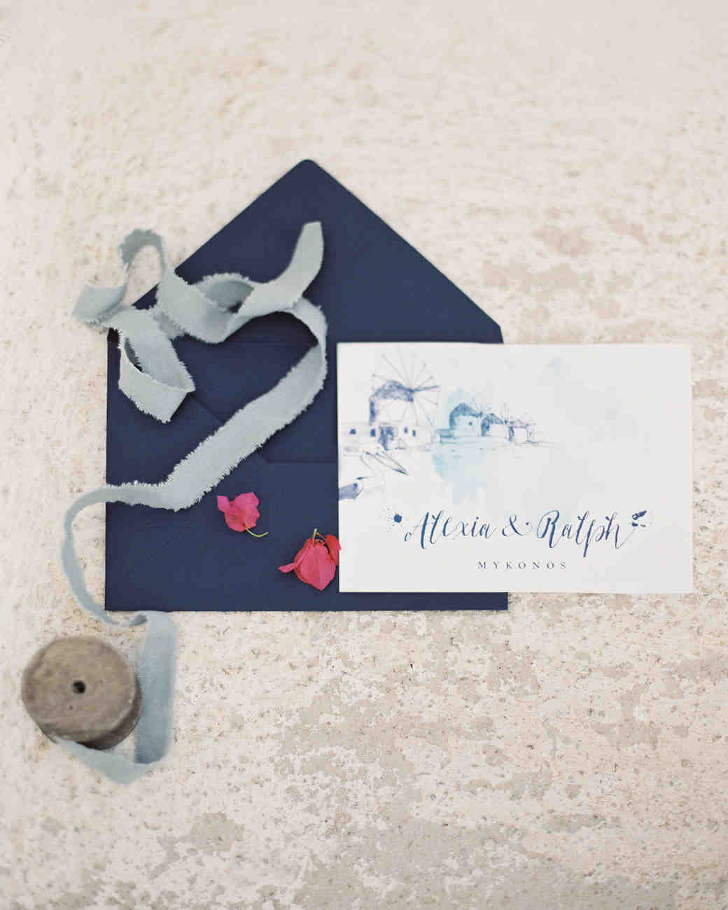 watercolor save-the-date