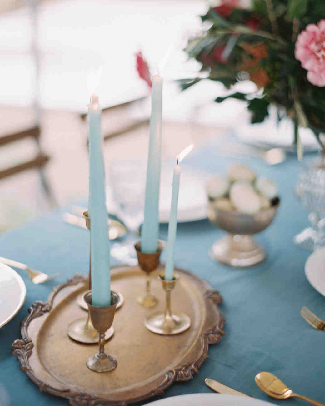 surprise wedding candlesticks