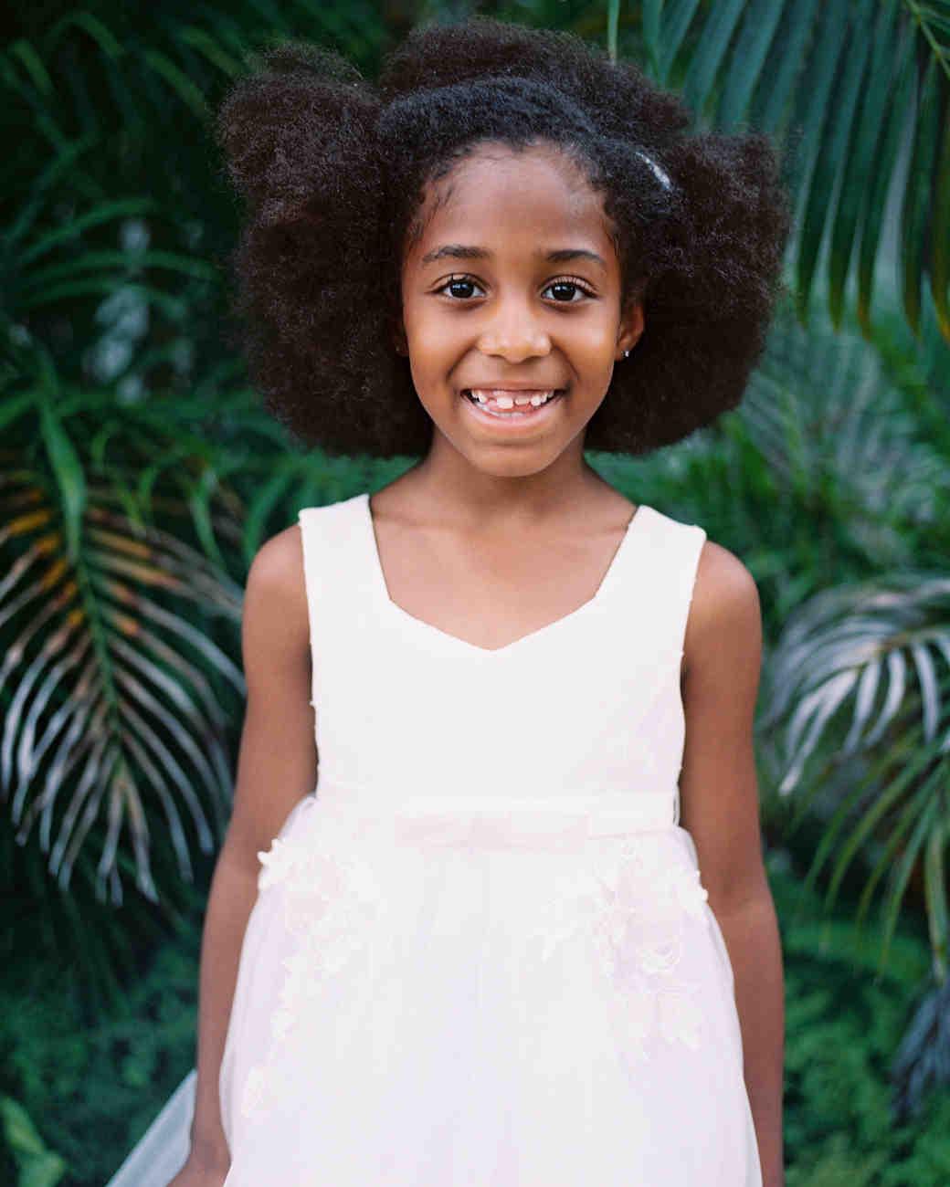 porsha terry wedding jamaica flower girl