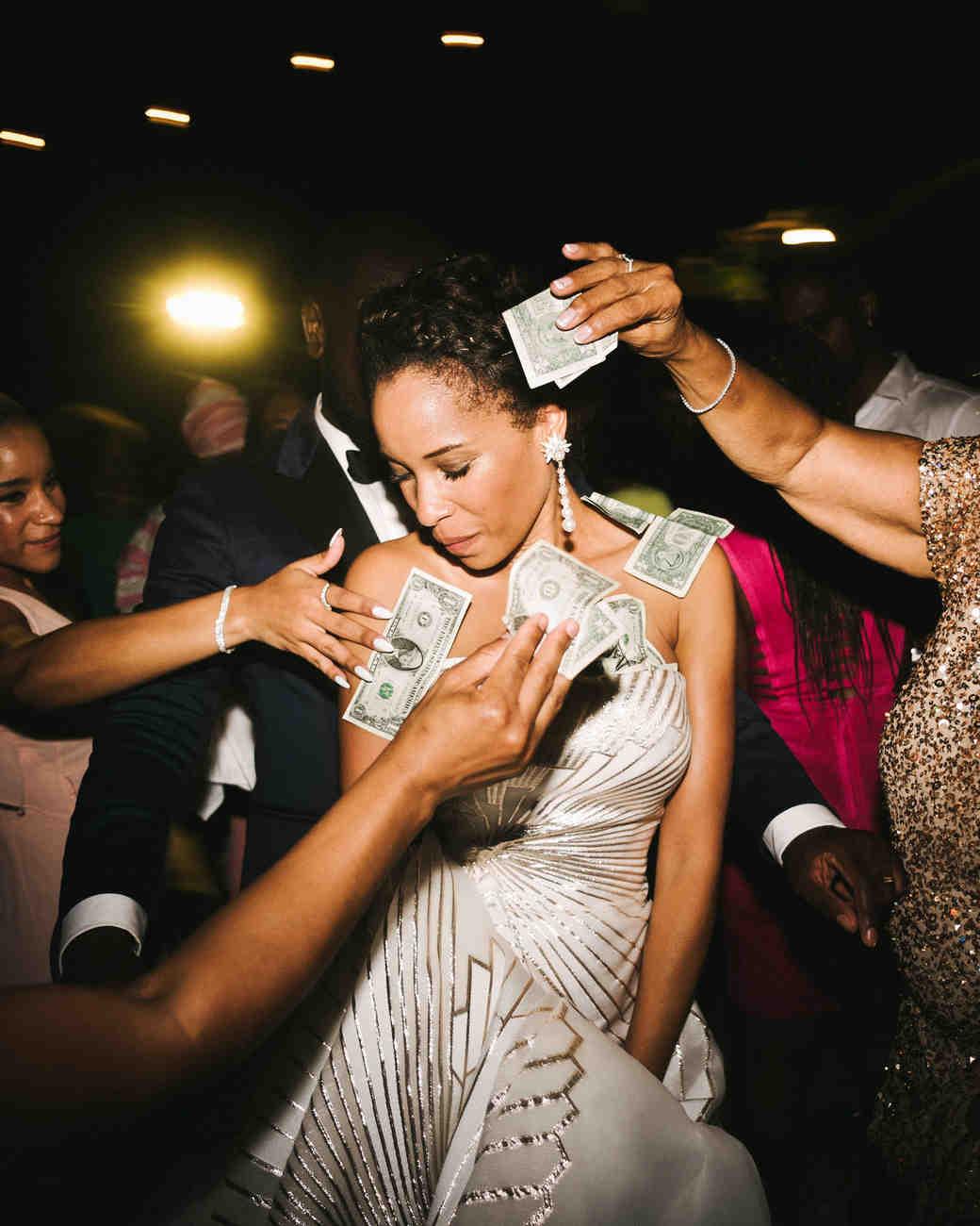 porsha terry wedding jamaica money dance bride groom