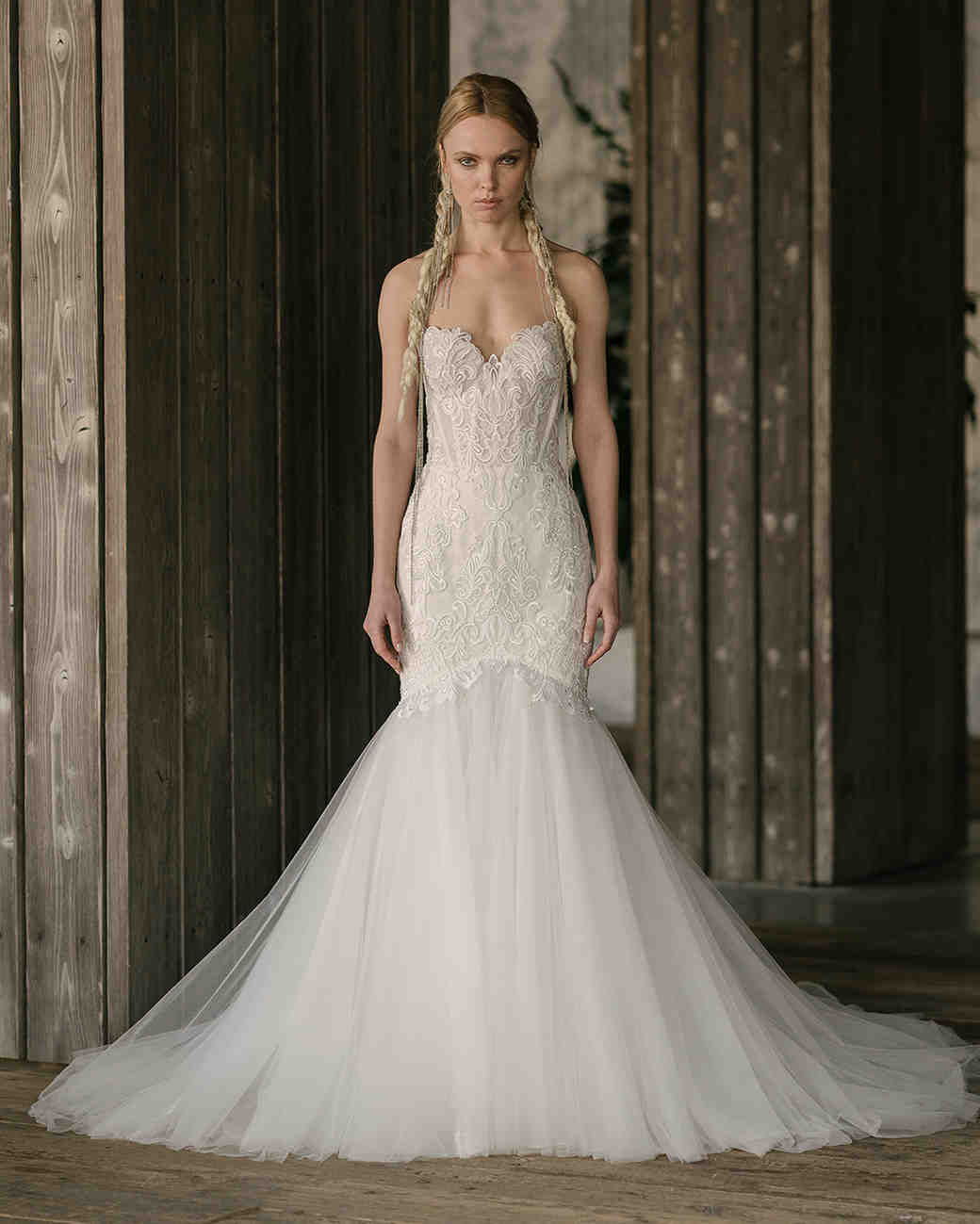 rivini by rita vinieris spring 2019 strapless ball gown with embroidery