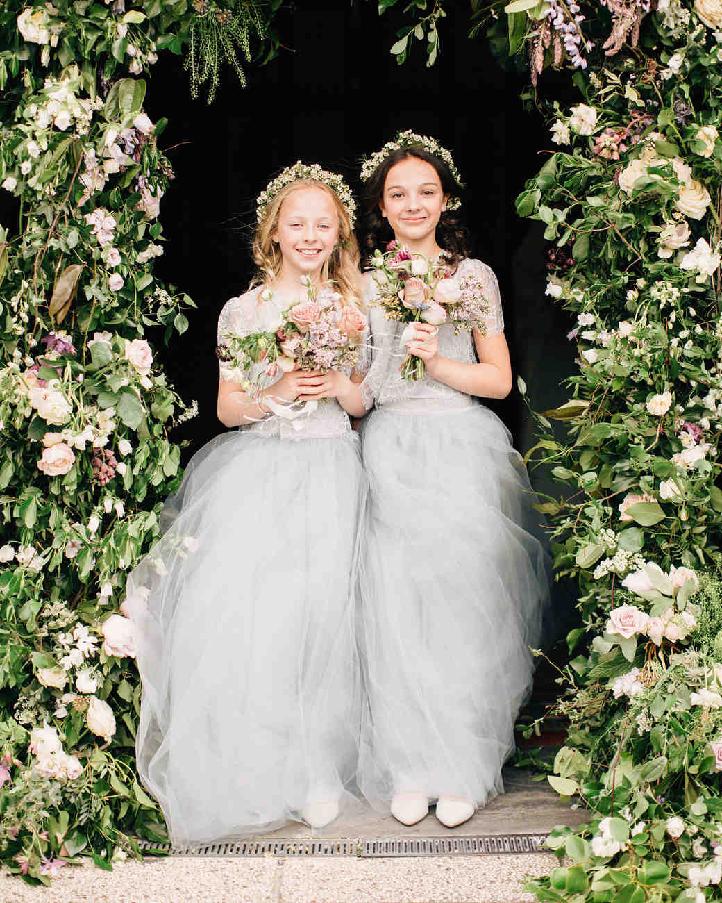 Wedding Flower Girl: 45 Spring Wedding Ideas From Real Celebrations