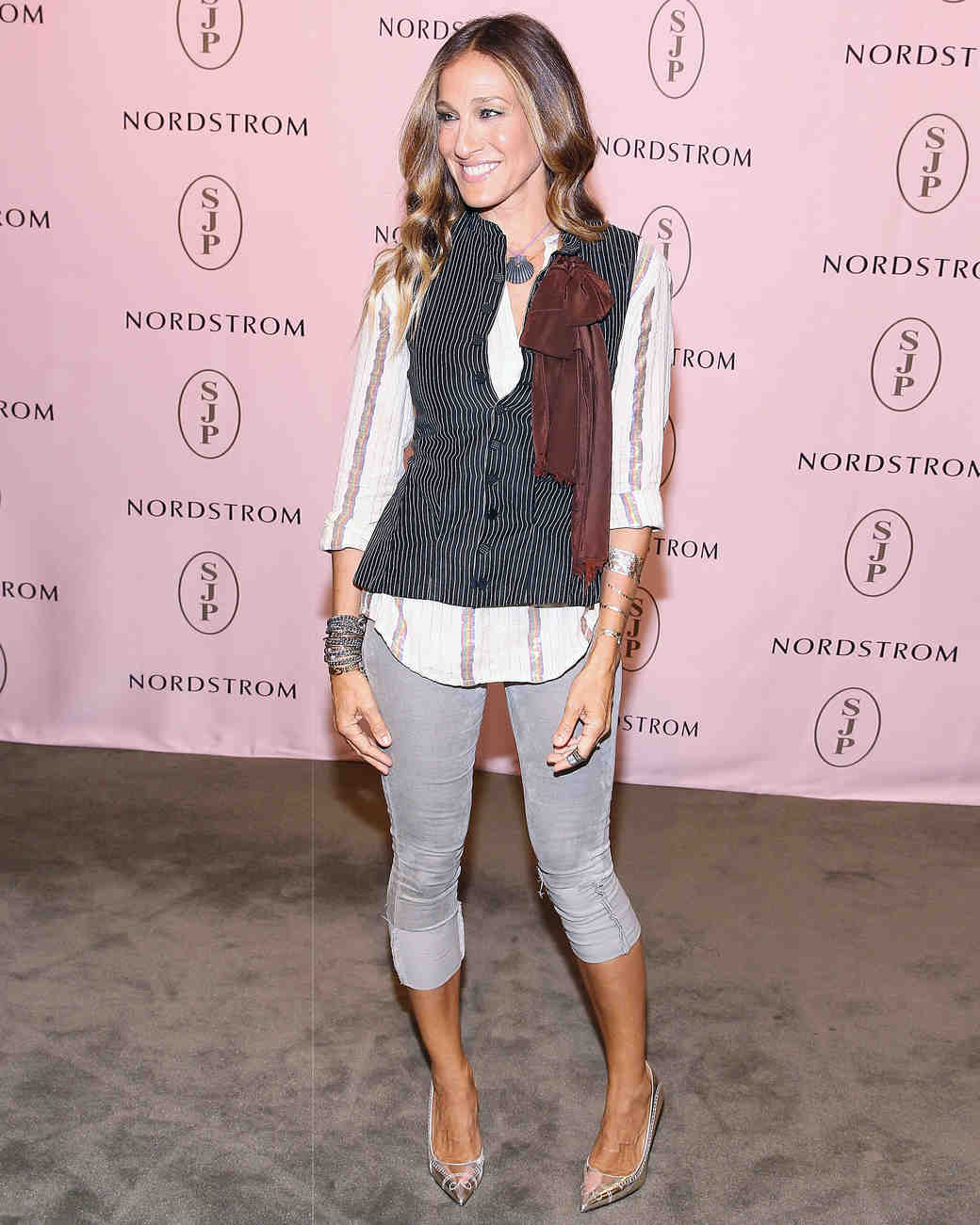 Mercedes Benz Of Tysons >> 26 Times Sarah Jessica Parker Wore Her Own Shoes on the Red Carpet | Martha Stewart Weddings