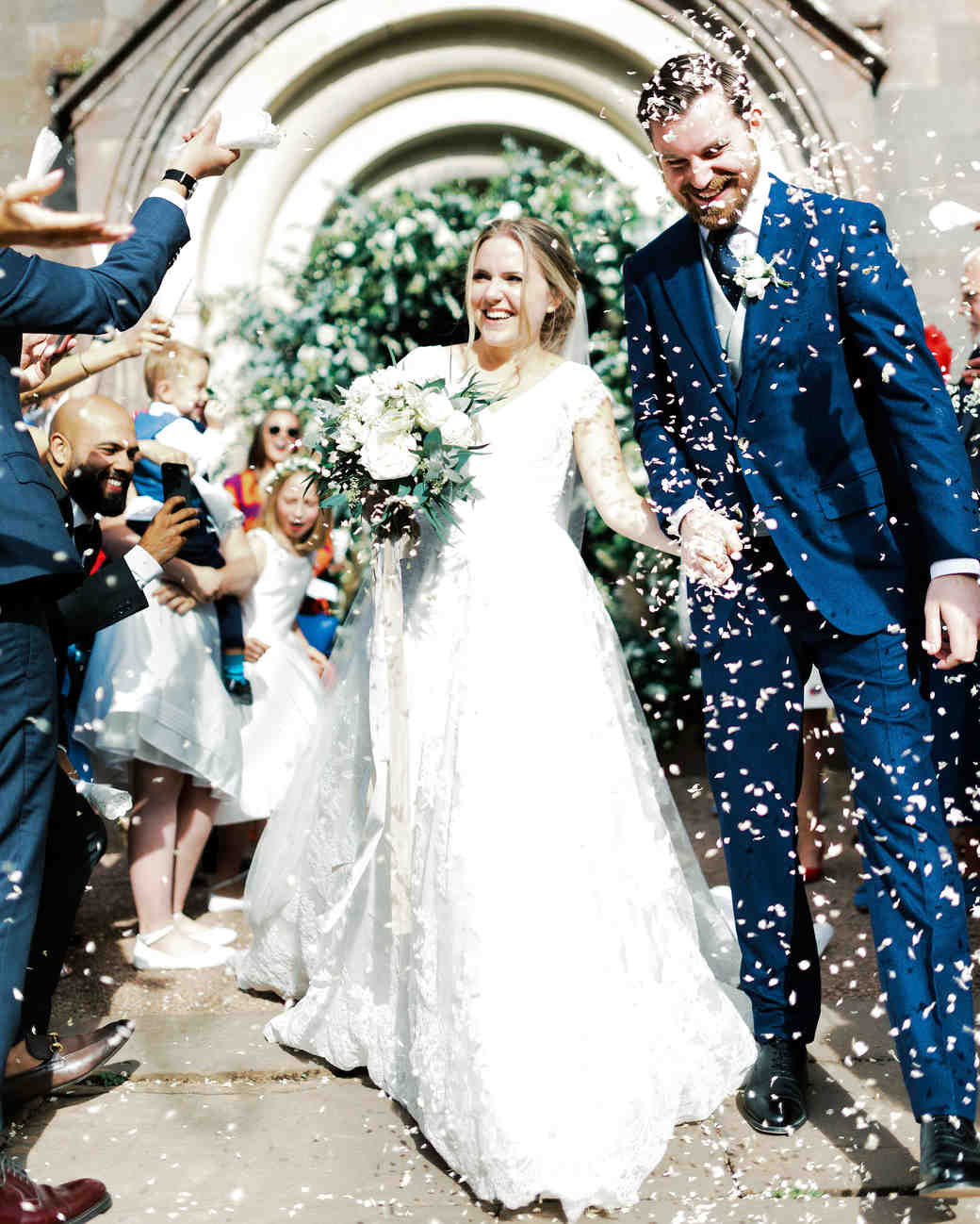 sophie christopher wedding couple ceremony recessional