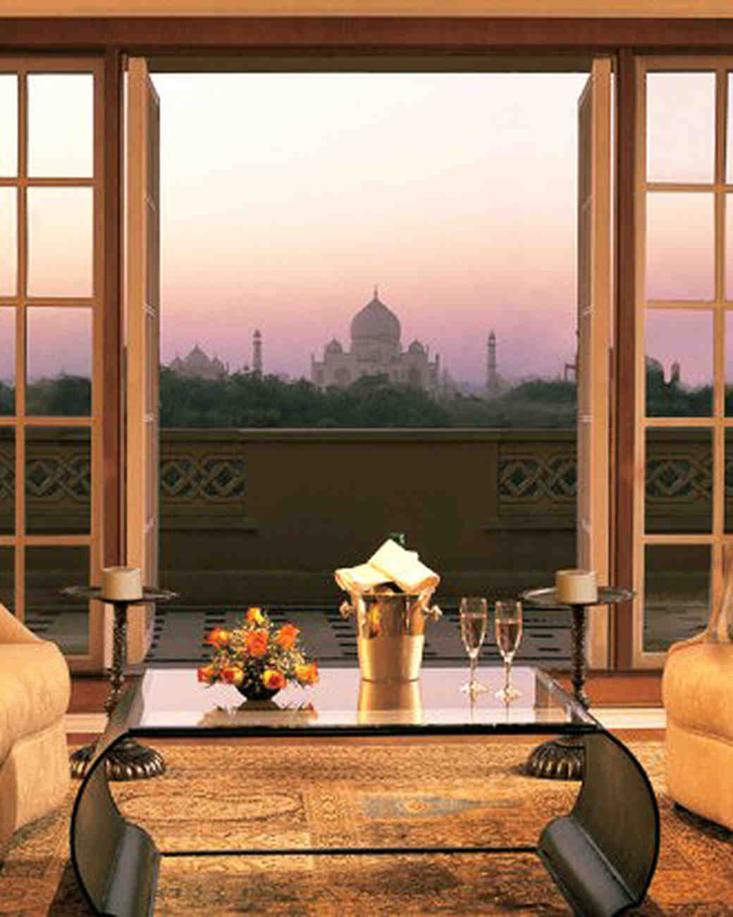 resort taj mahal view