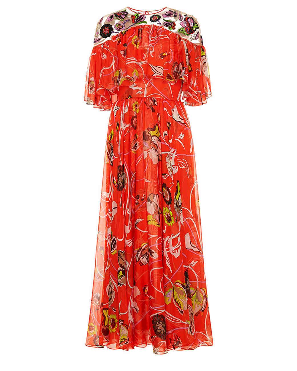 Red Wedding Guest Dresses Summer