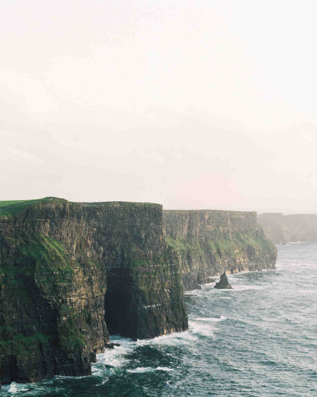 ireland cliffs landscape