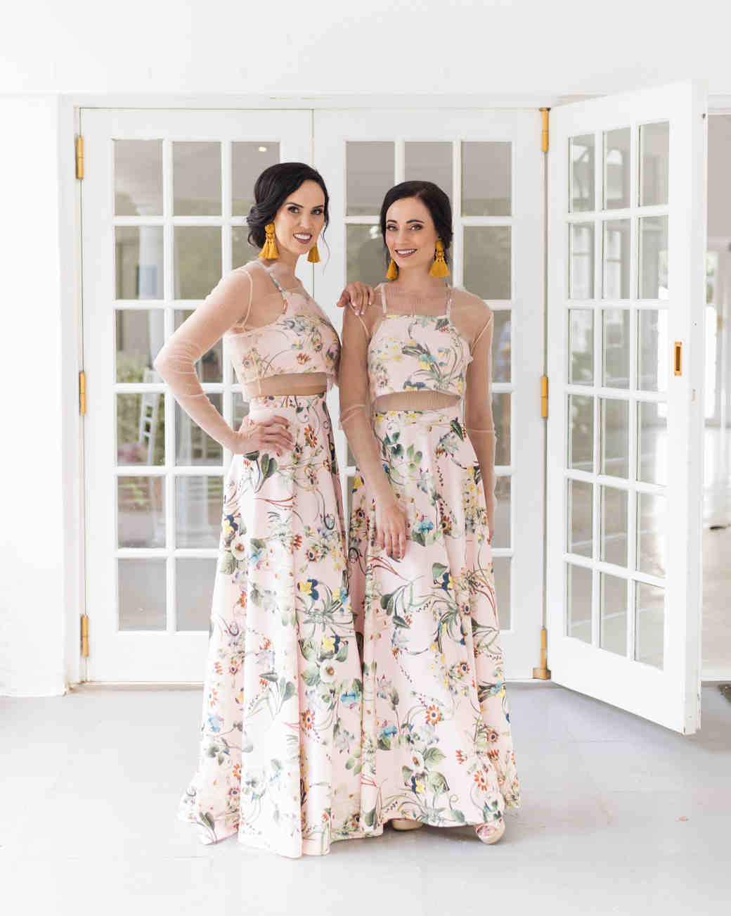 15dc85a2b41189 Two-Piece Bridesmaids Dresses