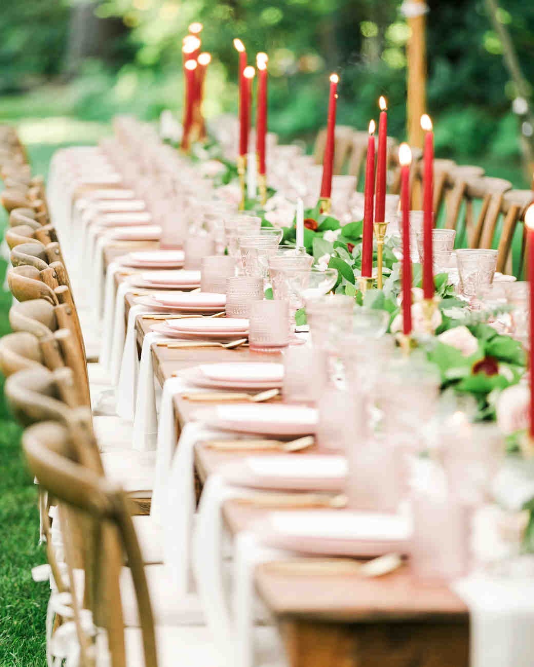 vanessa steven wedding placesetting tables
