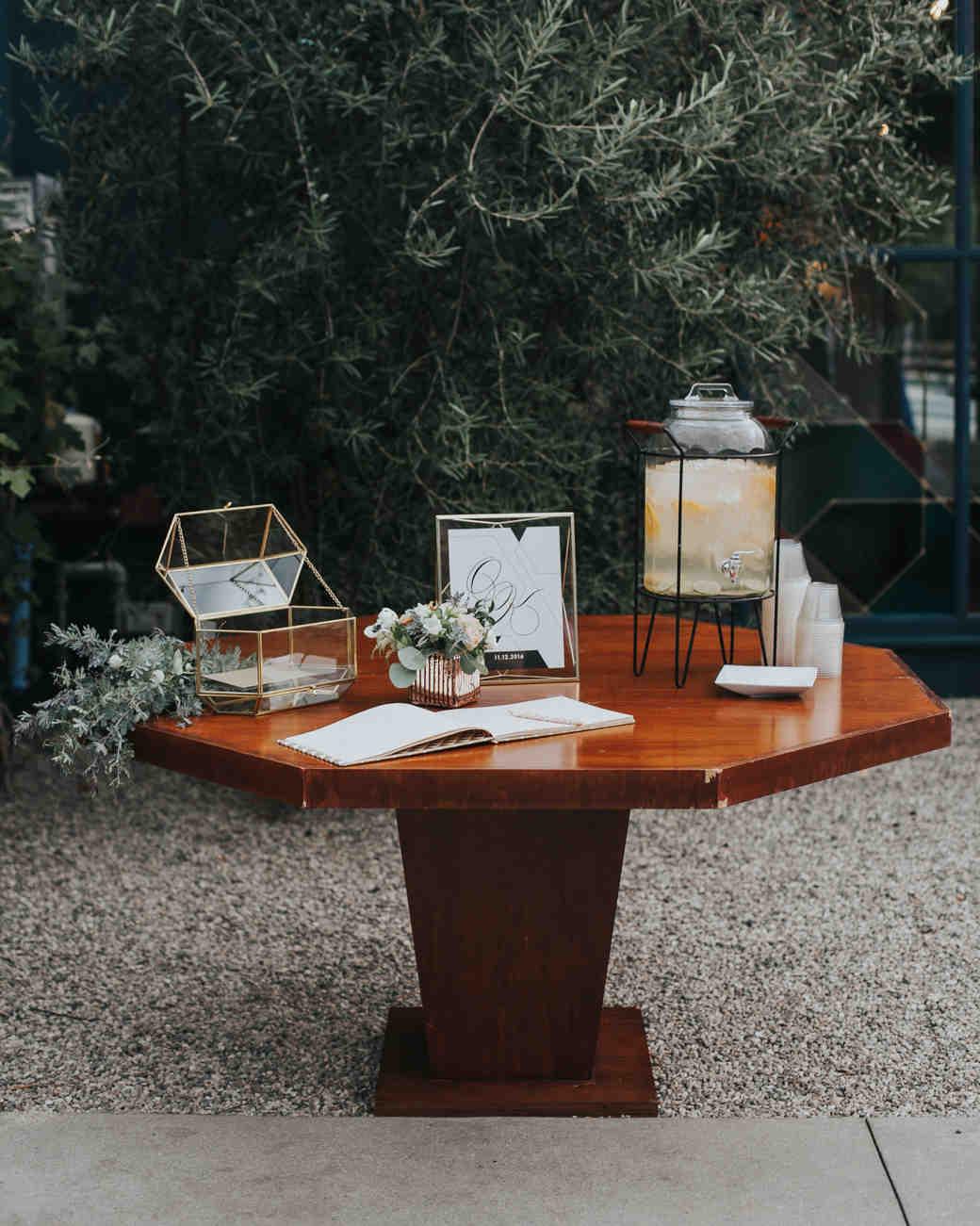 wedding gift tables rachel mccauley photography