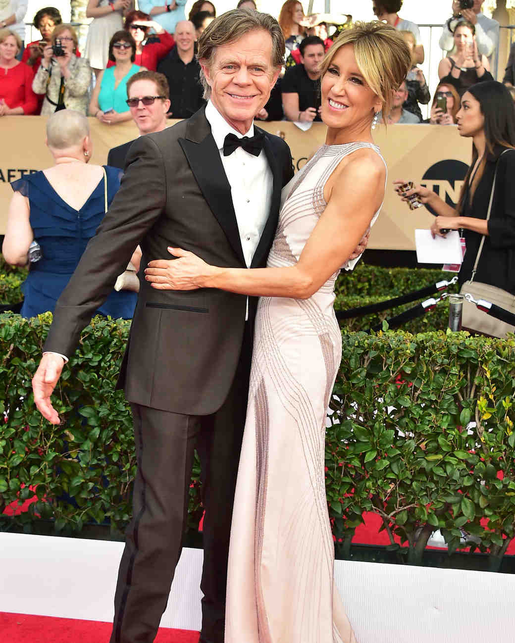 William H. Macy & Felicity Huffman Sag Awards 2017