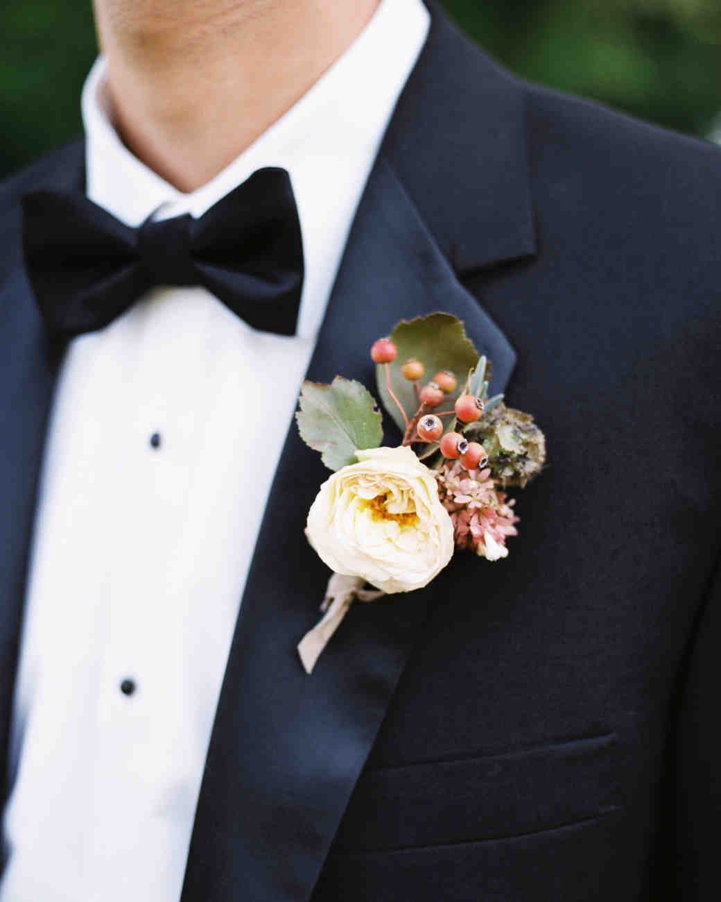 amanda william wedding tennessee boutonniere
