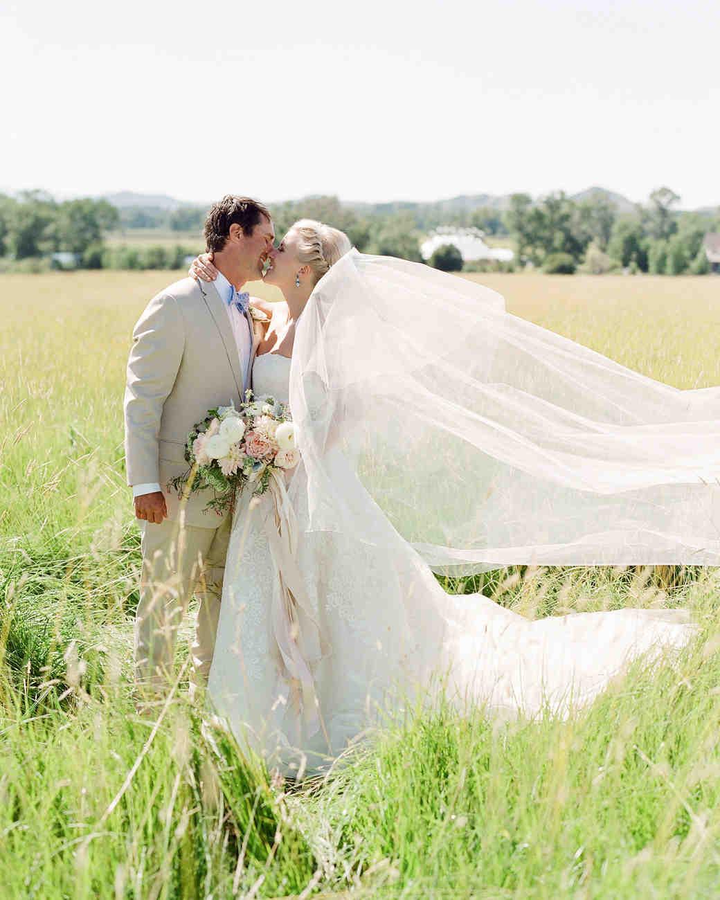 bessie john wedding couple kissing