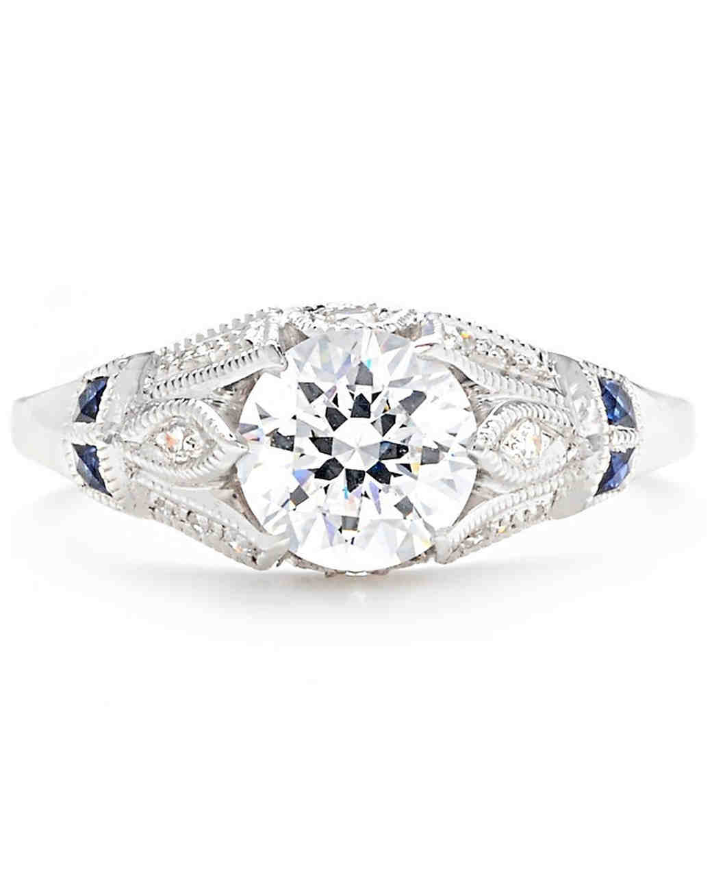 47 stunning vintage engagement rings | martha stewart weddings