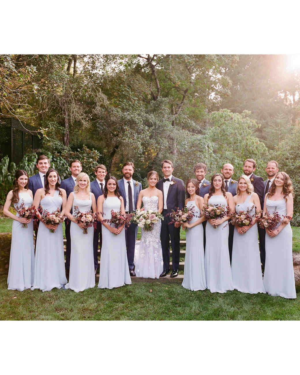 caitlin michael wedding bridal party