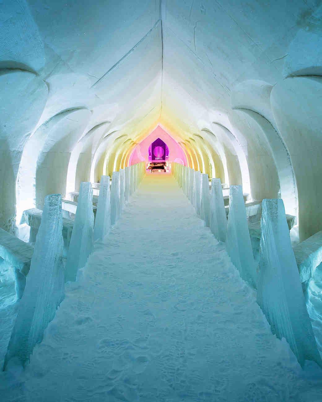 rovaniemi snow chapel