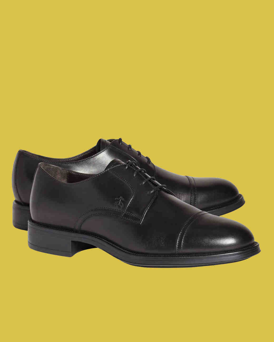 Brooks Brothers Leather Cap-Toe Shoes