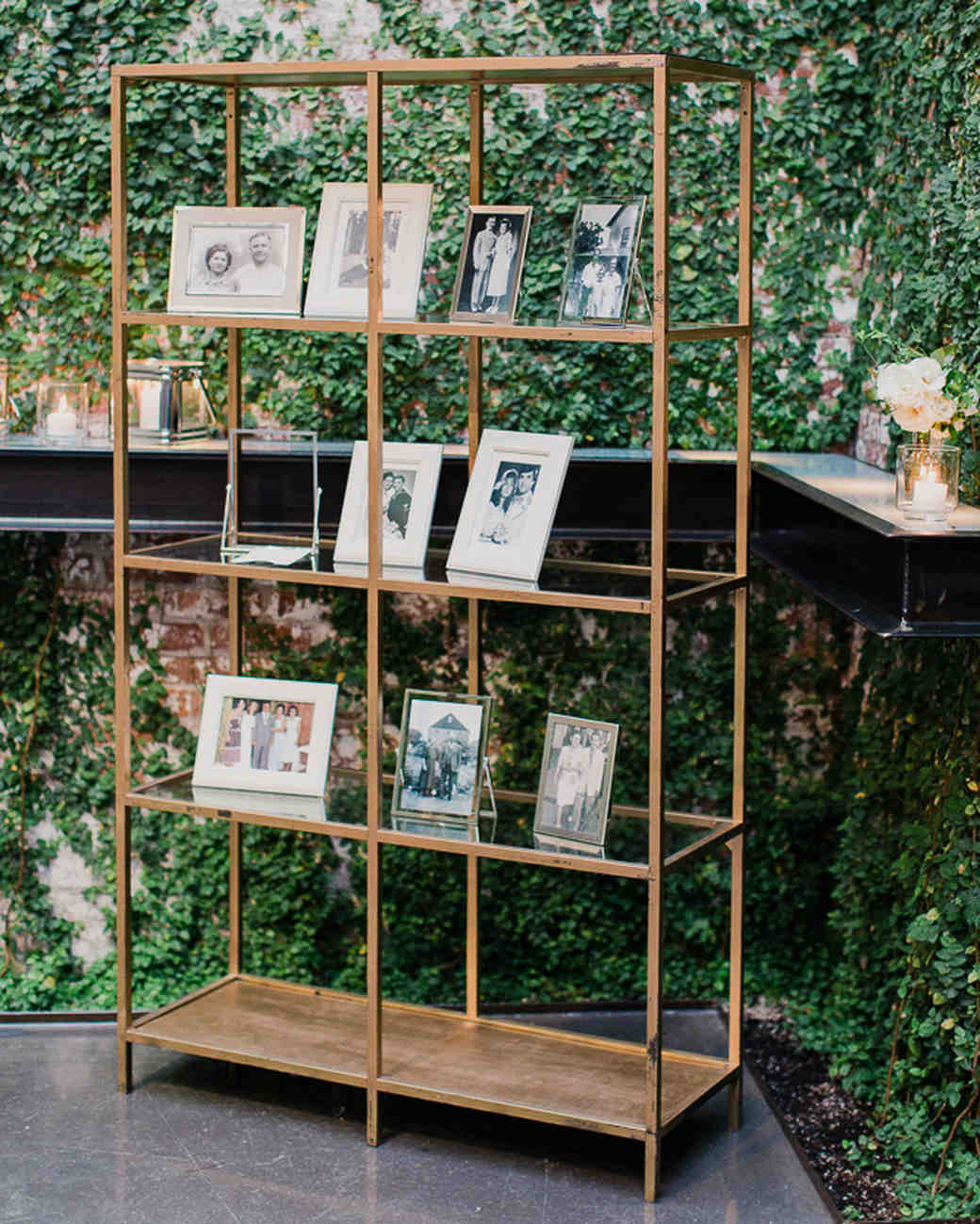 22 creative ways to display photos at your wedding martha stewart weddings