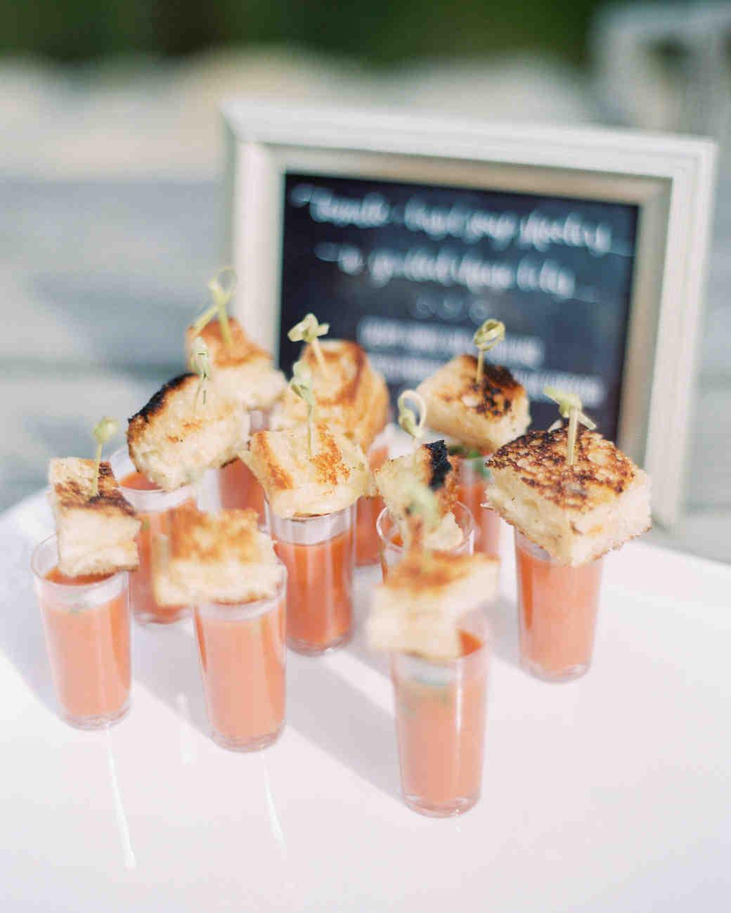 engagement party food rachel solomon photography