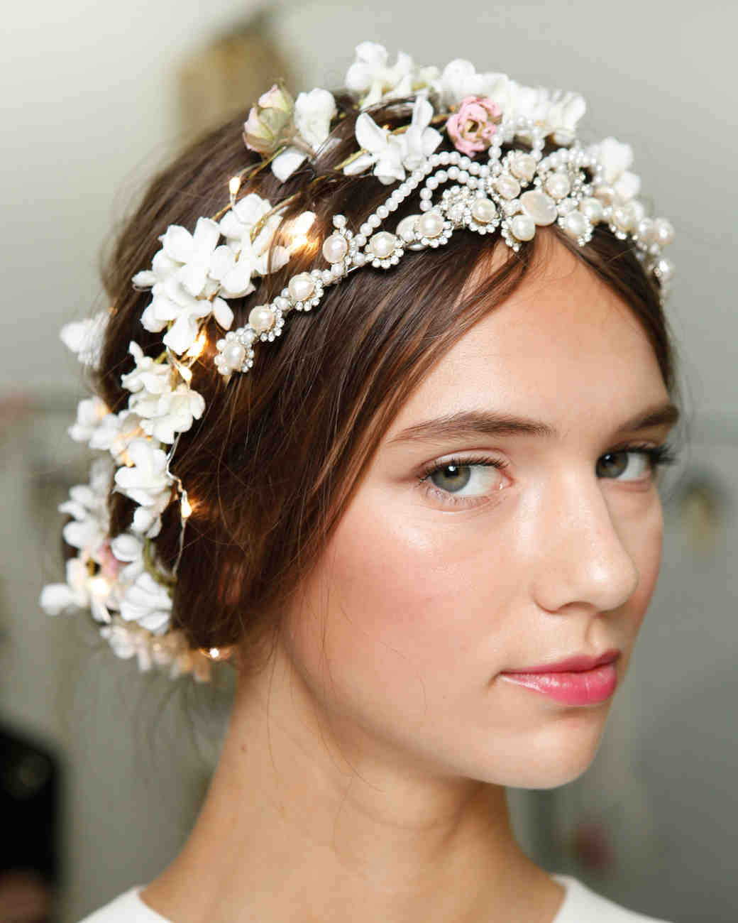 20 Wedding Hairstyles With Flowers: 4 Flower-Filled Wedding Hairstyles From The Bridal Shows