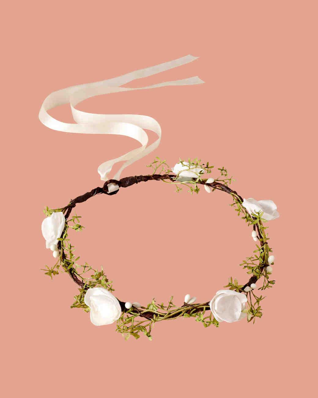 Ragga Weddings Ivory Flower Crown