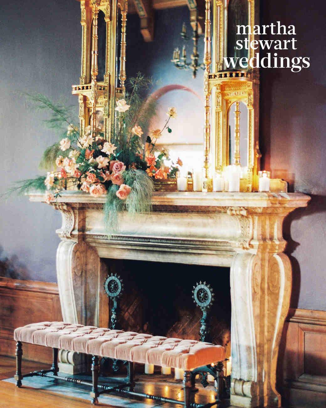 steven yeun walking dead wedding fireplace