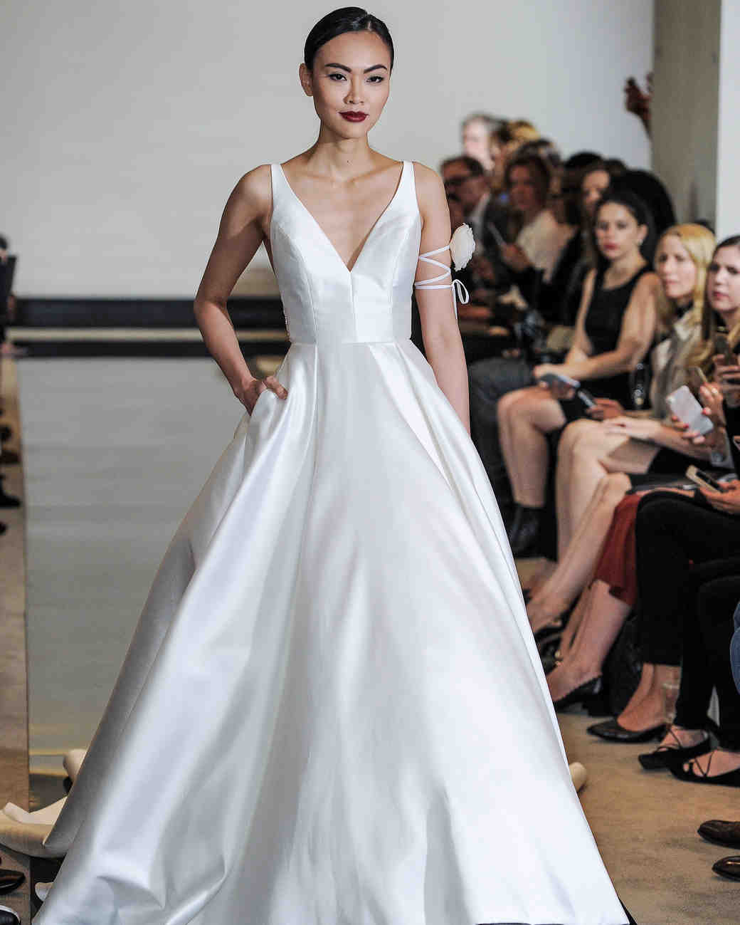 Simple Wedding Dresses That Are Just Plain Chic | Martha Stewart ...