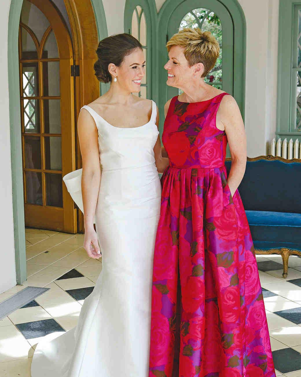 wedding mom
