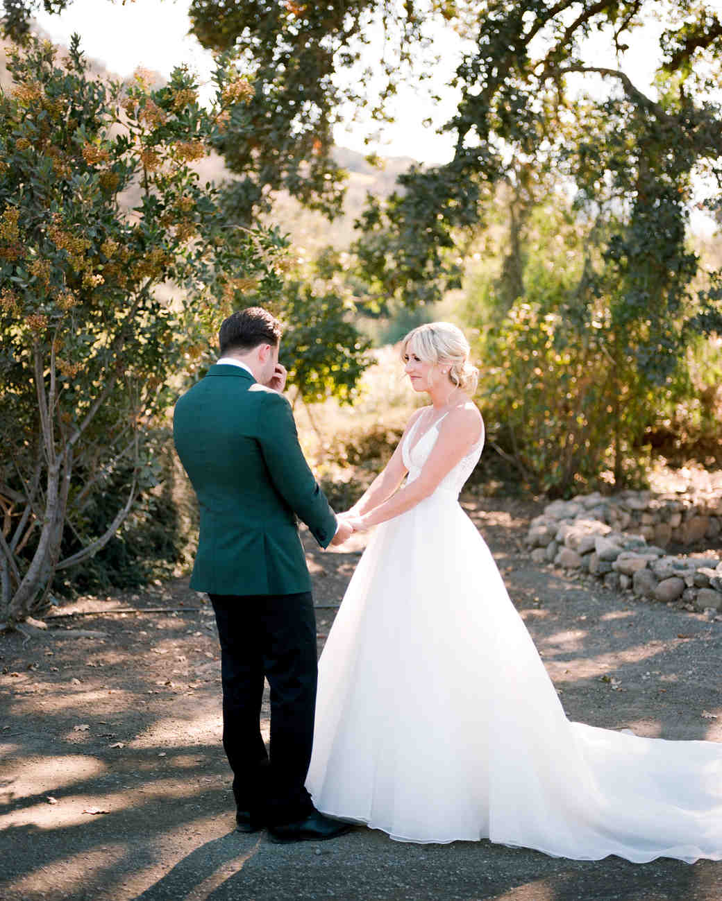 kiersten ruairi wedding couple first look