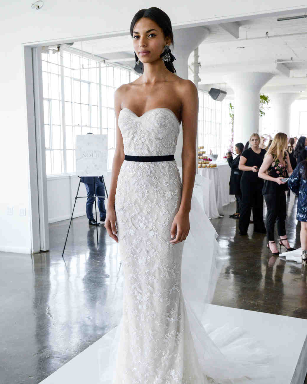 7ac3576cda2 marchesa spring 2018 strapless wedding dress with beaded details