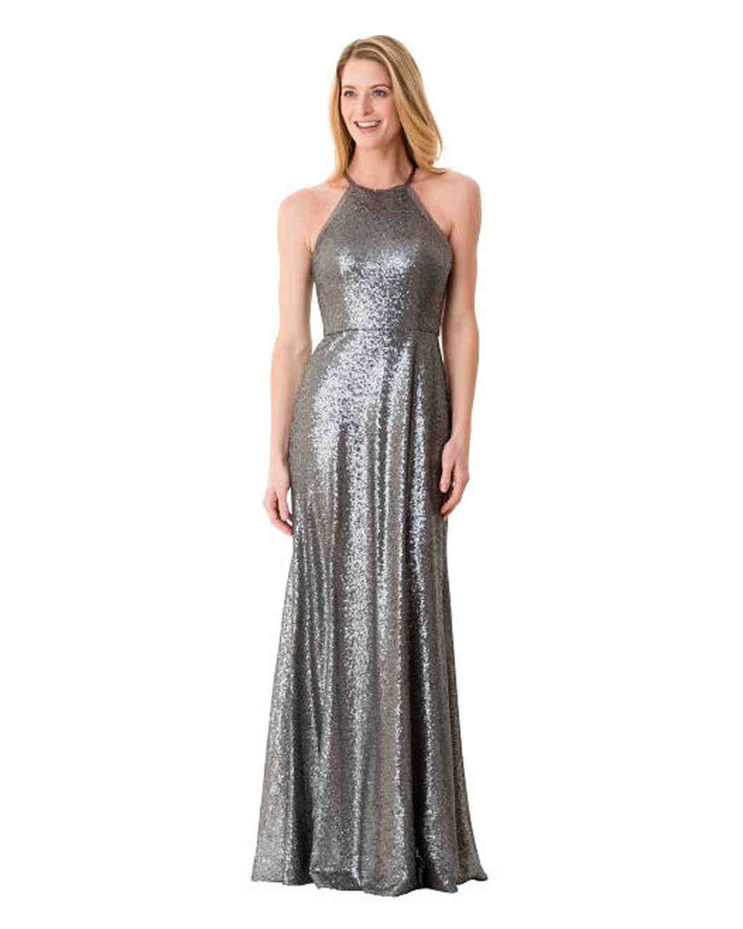 e749c048d667 Metallic Bridesmaid Dresses That You Can Wear Over and Over Again | Martha  Stewart Weddings