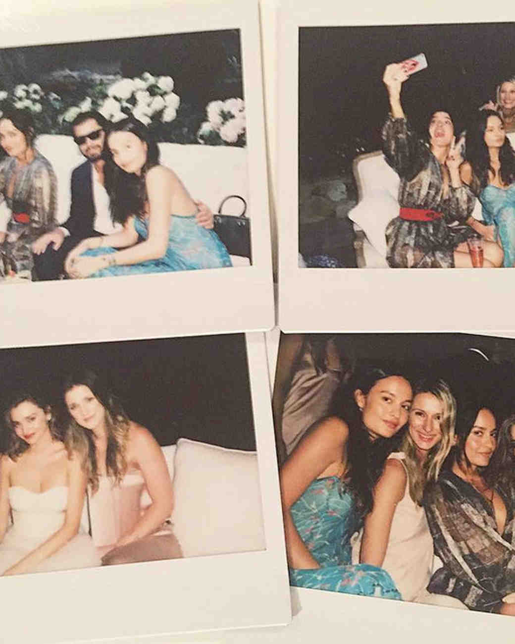 Miranda Kerr Engagement Party Polaroids
