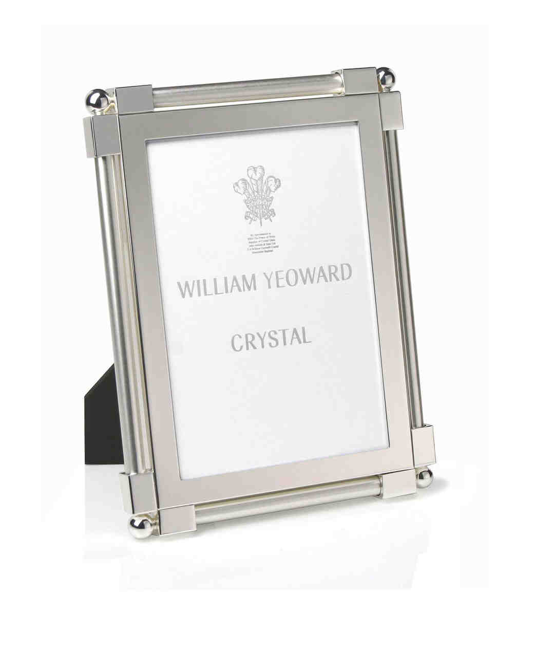 platinum anniversary gifts frame william yeoward