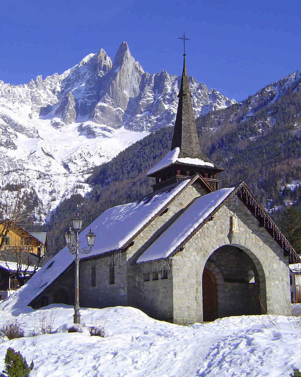 romantic destination france les praz de chamonix