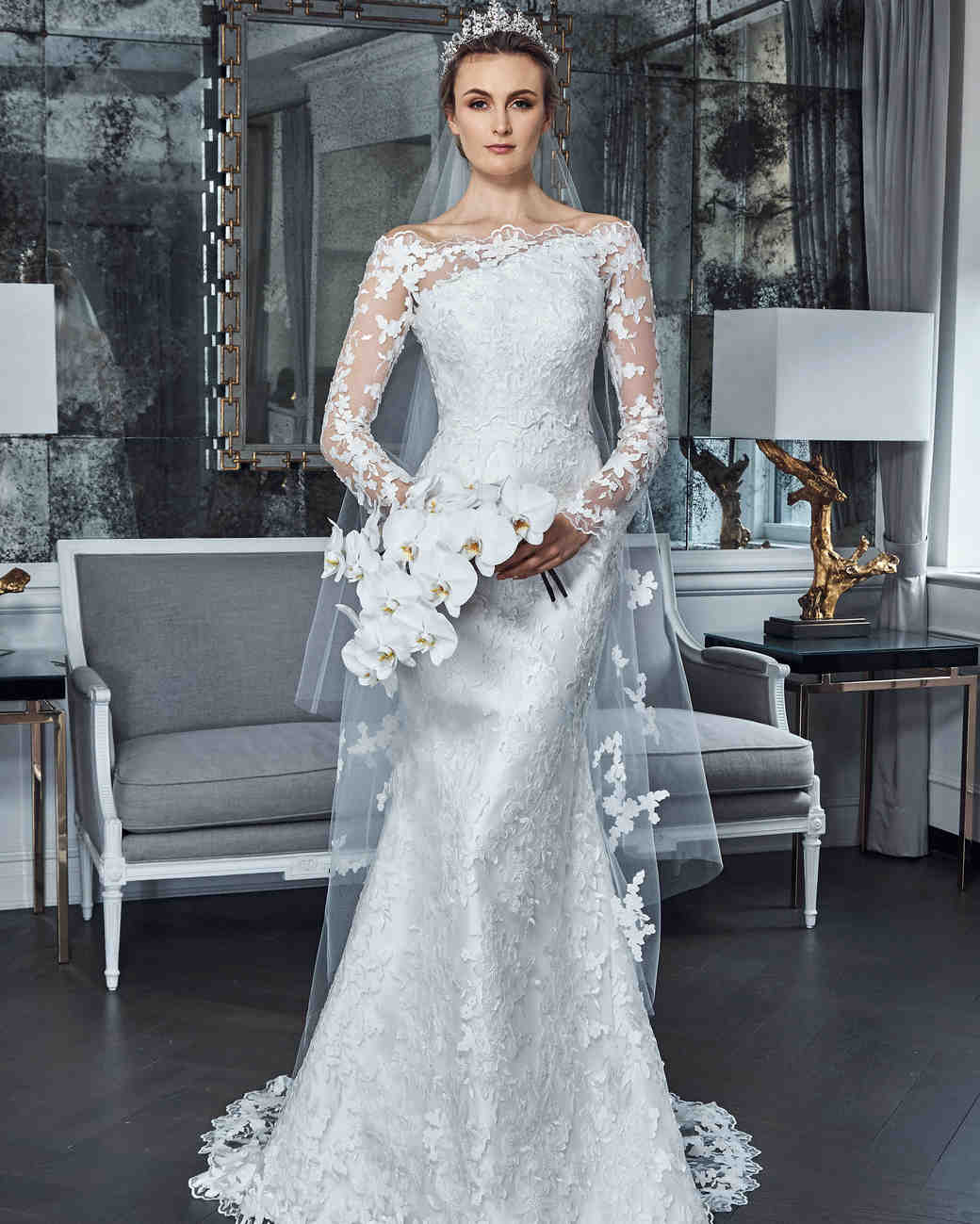 Romona Keveza Spring 2019 Wedding Dress Collection | Martha Stewart ...