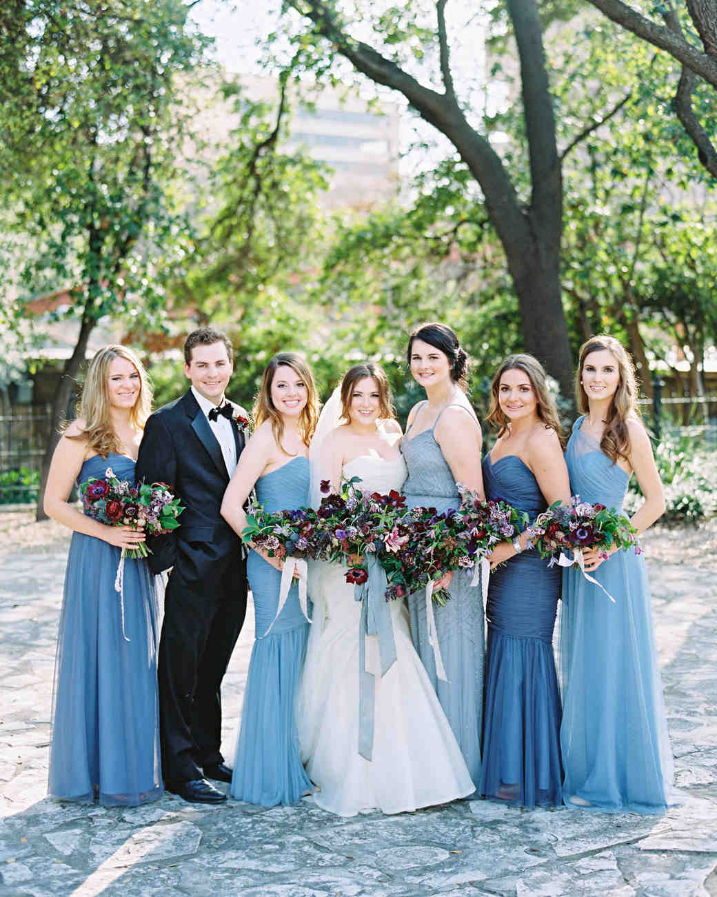 samantha michael wedding bridalparty