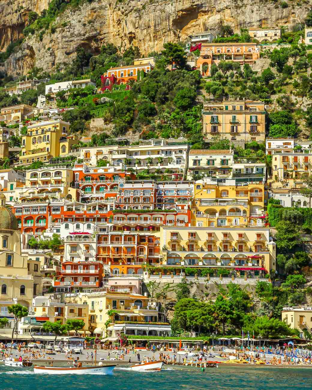 amalfi coast buildings