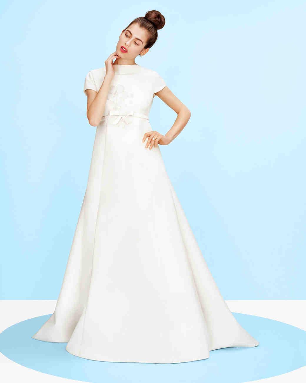 1daf07ba7ed3a A Guide to Every Wedding Dress Silhouette | Martha Stewart Weddings
