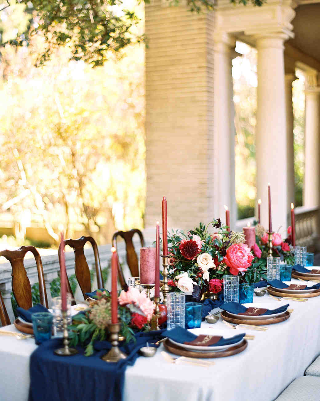 23 Ways to Arrange Red Wedding Centerpieces | Martha Stewart Weddings