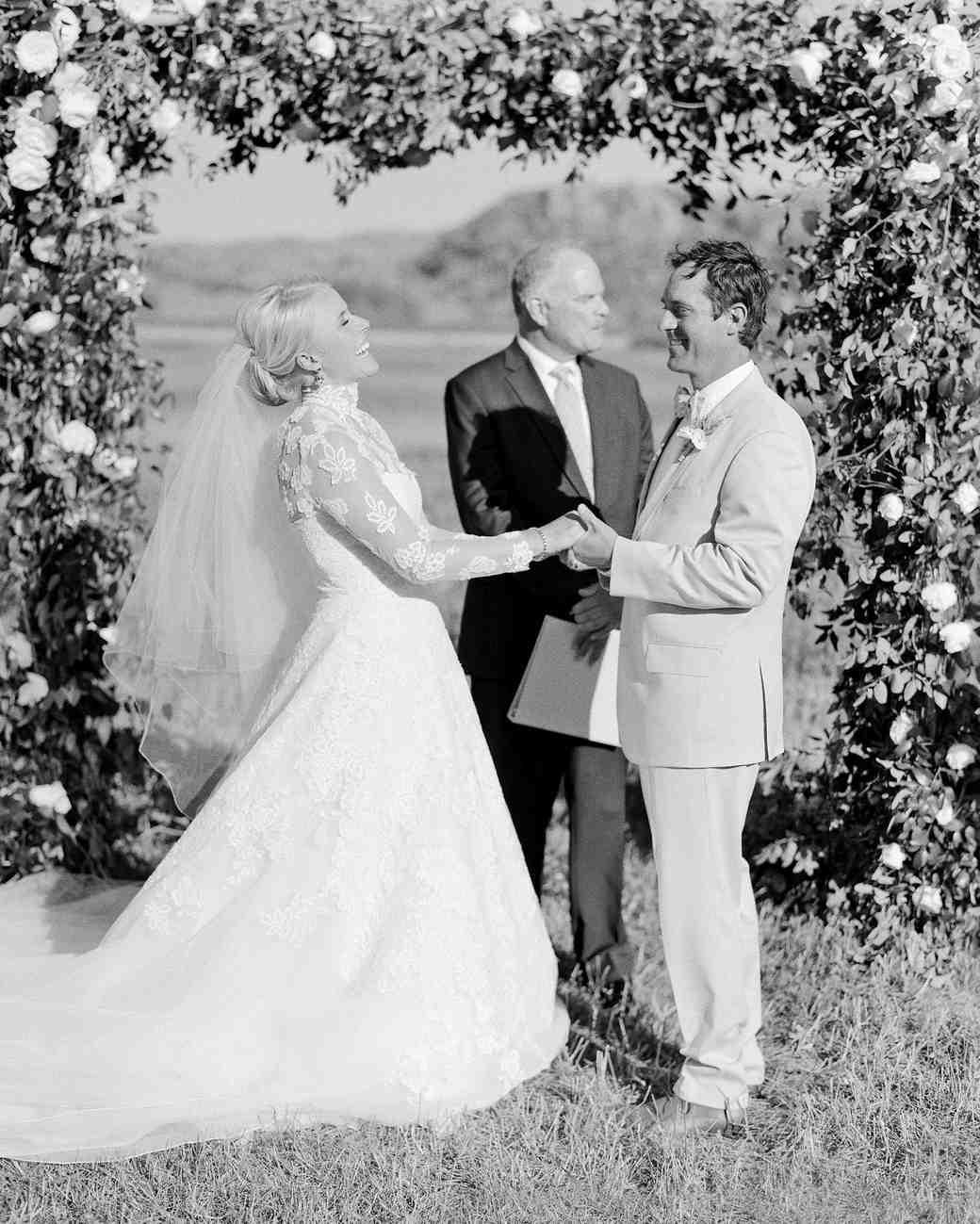 bessie john wedding ceremony