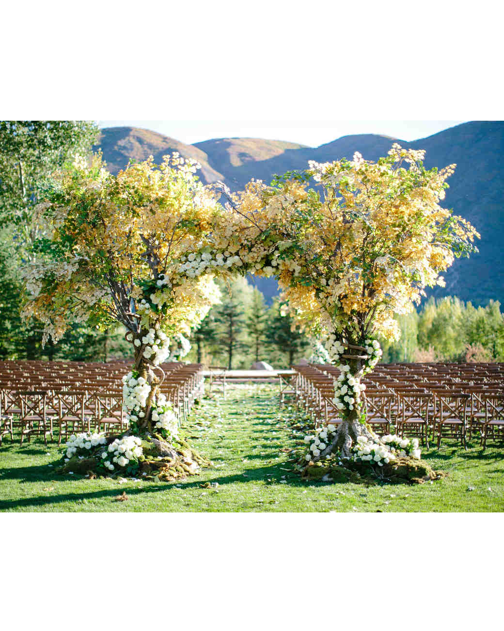 wedding ceremony entrance