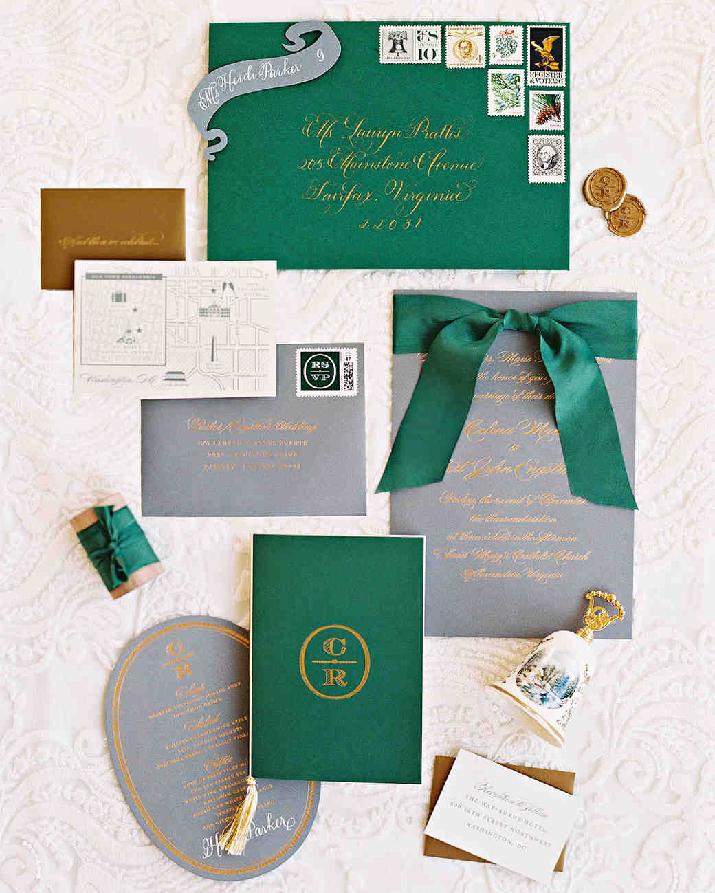 celina rob wedding virginia stationery suite