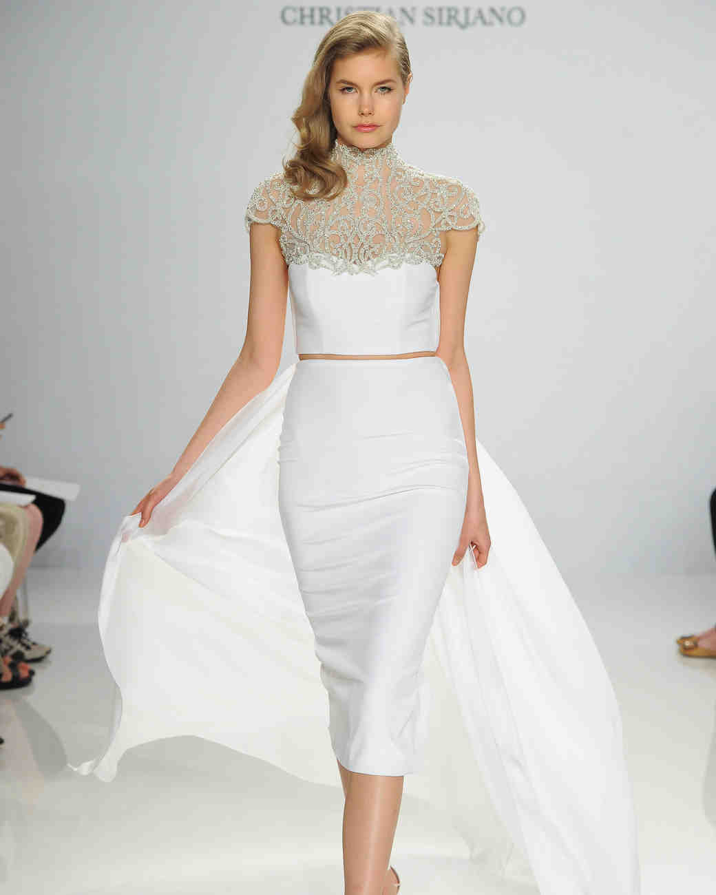 50 Two-Piece Wedding Dresses