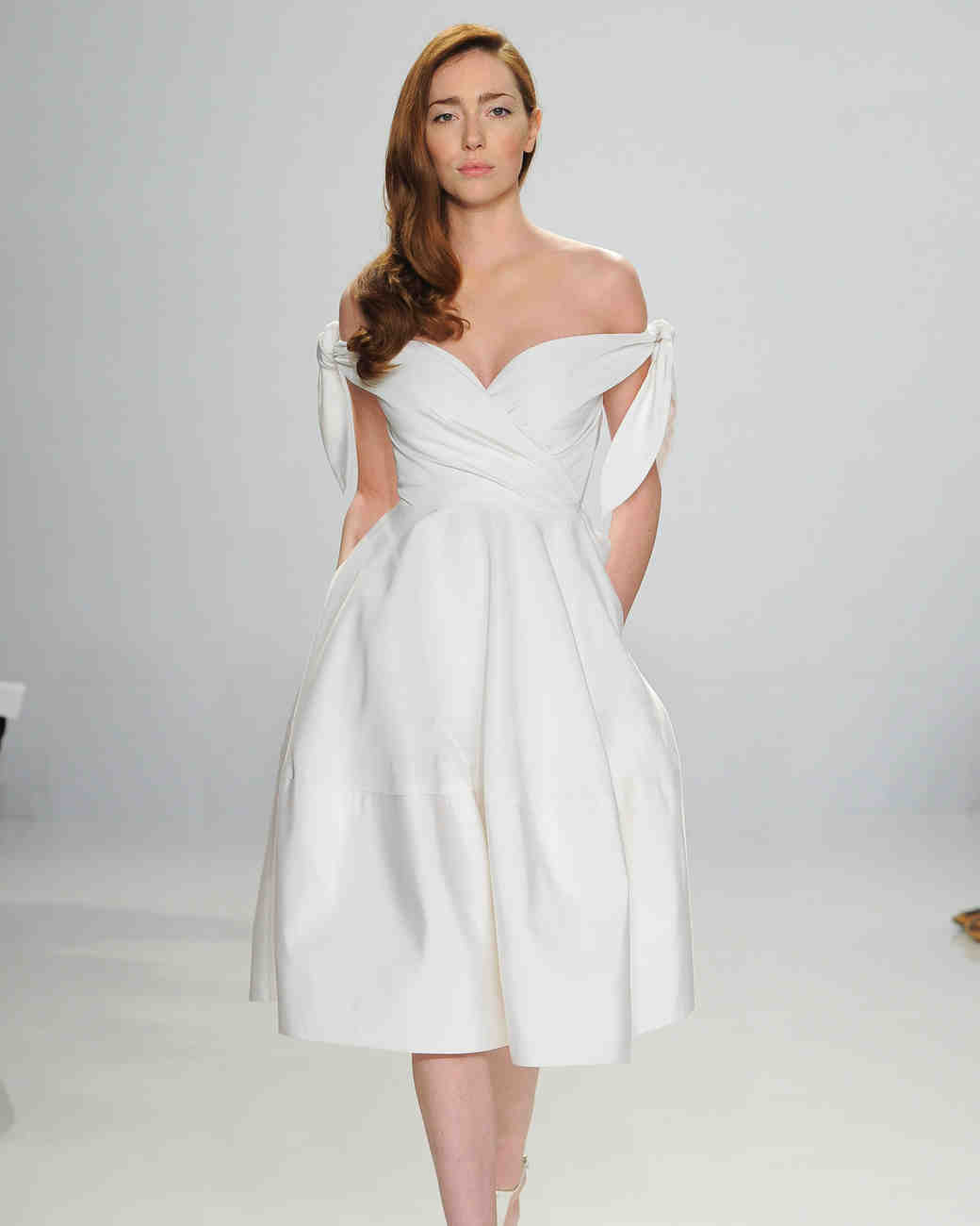 Christian Siriano Bow Wedding Dress