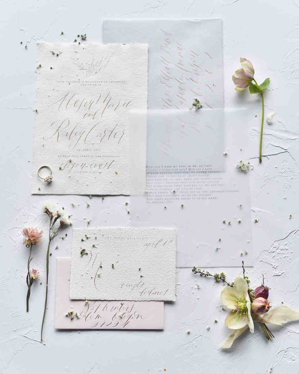 deckle edge invitations candace cross photography