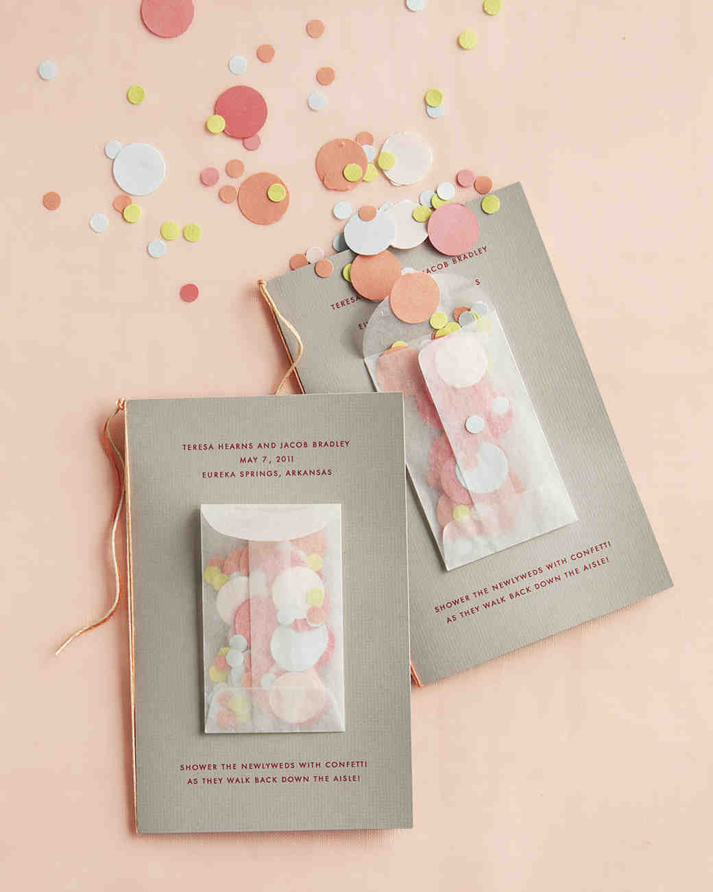 25 ways to upgrade your diy wedding programs martha stewart weddings